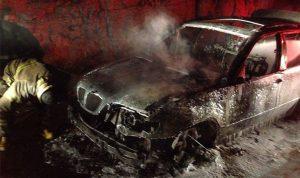 ازدحام سير على اوتوستراد الكازينو طبرجا بسبب احتراق سيارة