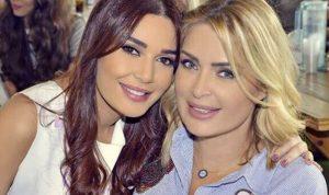 بالصورة… شقيقة سيرين عبد النور مع تاليا وكريستيانو