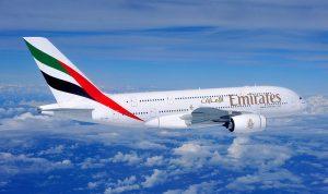 """""""طيران الإمارات"""" تعلن تسيير 4 رحلات من دبي إلى القاهرة"""