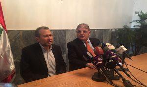 باسيل من مزيارة: نريد اللبنانيين جميعا ضمن مشروع الدولة