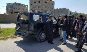 بالصور… انفجار يستهدف موكب رئيس الوزراء الفلسطيني