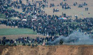 إصابة 20 فلسطينيا في قطاع غزة
