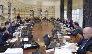 جدول أعمال مجلس وزراء خالٍ من بنود الكهرباء