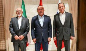 اجتماع روسي إيراني تركي في أستانا