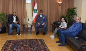 لقاء بين اللواء عثمان وعيتاني