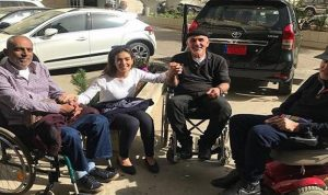 """بالصور… جيسيكا عازار تزور مستشفى """"بيت شباب"""""""