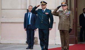 لقاءات قائد الجيش على هامش مؤتمر روما