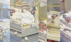 """لبنانية تلد 6 أطفال بـ""""حالة عالمية نادرة"""""""