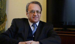مستشار الحريري يلتقي بوغدانوف في إطار اتصالات لشرح الوضع اللبناني