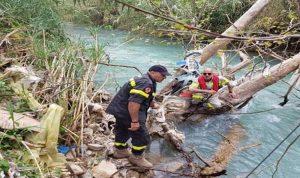 سقوط طفلة في مجرى نهر ابراهيم
