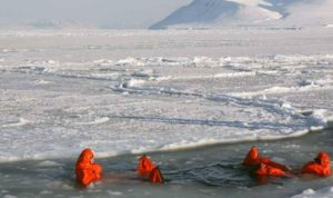 درجة حرارة قياسية في القطب الشمالي