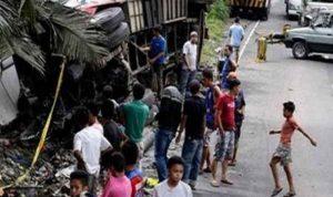 قتلى وجرحى في حادث حافلة في الفيليبين