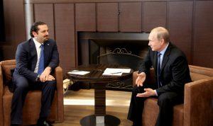 روسيا تأمل بالإسراع في تشكيل الحكومة
