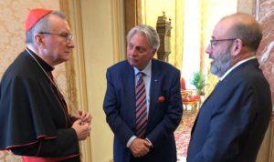 الصراف زار الفاتيكان