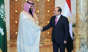 السيسي لولي العهد السعودي: أمن الخليج جزء لا يتجزأ من أمننا