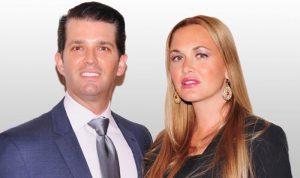 زوجة ترامب جونيور تطلب الطلاق!