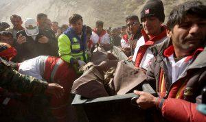 بالصور… حطام الطائرة التركية المنكوبة
