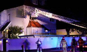 هجوم يستهدف السفارة التركية في الدنمارك
