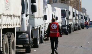 الأمم المتحدة: قافلة إغاثة لن تتجه للغوطة كما كان مقررا