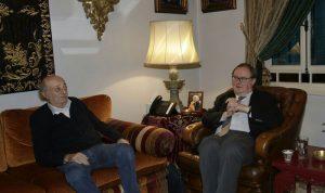 جنبلاط عرض للتطورات مع الموفد الرئاسي الفرنسي