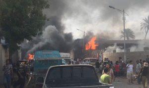 بالصور… قتلى وجرحى بتفجير في عدن