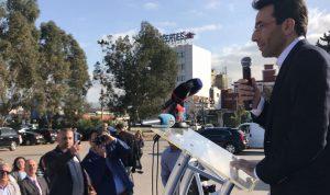 شبيب في افتتاح سوق الأزهار والشتول: لتشجيع المزارع اللبناني ودعم إنتاجه