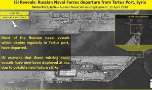 صور توثق إجراءات للبحرية الروسية بطرطوس