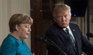 ترامب وميركل قلقان بشأن التطورات في سوريا
