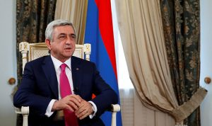 إنتخاب رئيس أرمينيا السابق رئيسا للوزراء