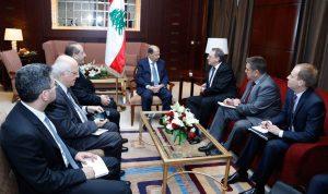 بوغدانوف: روسيا تدعم لبنان