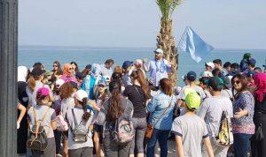 انطلاق الحملة الوطنية لتنظيف الشاطئ
