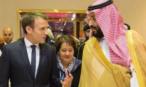 ماكرون يلتقي بن سلمان في فرنسا
