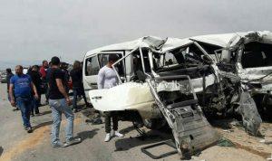 بالصور… 3 جرحى بحادث سير في بعلبك