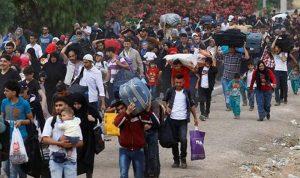 تأمين عودة 545 نازحا سوريا عبر المصنع والعبودية