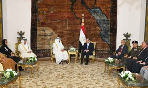 مصر والإمارات تبحثا قضايا المنطقة
