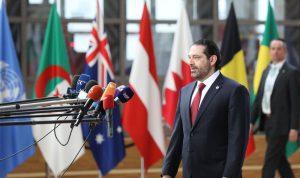 الحريري للمجتمع الدولي: لبنان أصبح مخيماً كبيراً