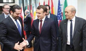 """نجاح """"سيدر"""" يرتب مسؤولية على الحكومة اللبنانية"""