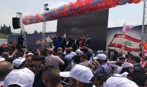 مهرجان انتخابي حاشد للائحة الشمال القوي في زغرتا