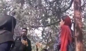 بالفيديو… فتاة إيرانية تتعرض للضرب بسبب عدم وضع الحجاب