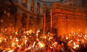 توجه وفد إلى الأردن لإحضار شعلة النور المقدس