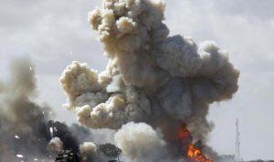 غارة جوية تضرب معسكرًا في ليبيا
