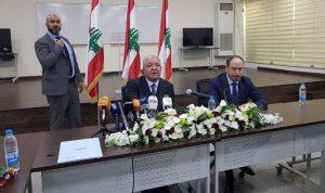 المشنوق: لا تخوف من عمل أمني يمنع اجراء الانتخابات