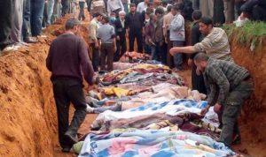 515 جثمانا… في مقابر جماعية