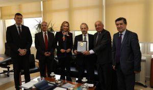 سفيرة سويسرا في لبنان زارت معهد البحوث الصناعية