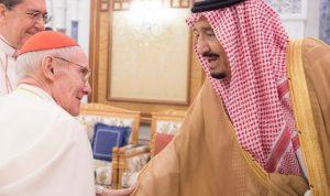 العاهل السعودي استقبل الكاردينال توران في الرياض