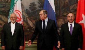 روسيا وتركيا وإيران: لن نسمح بتقسيم سوريا
