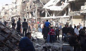 """الفصائل الفلسطينية في لبنان تتمسك بالعودة الى """"اليرموك"""""""