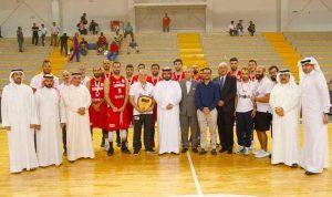 لبنان وصيف بطولة البحرين الدولية الاولى