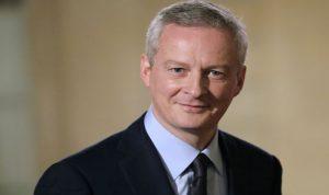 وزير الاقتصاد الفرنسي الغى مشاركته بمؤتمر في السعودية