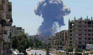 هل لإسرائيل علاقة بانفجارات مطار حماة؟